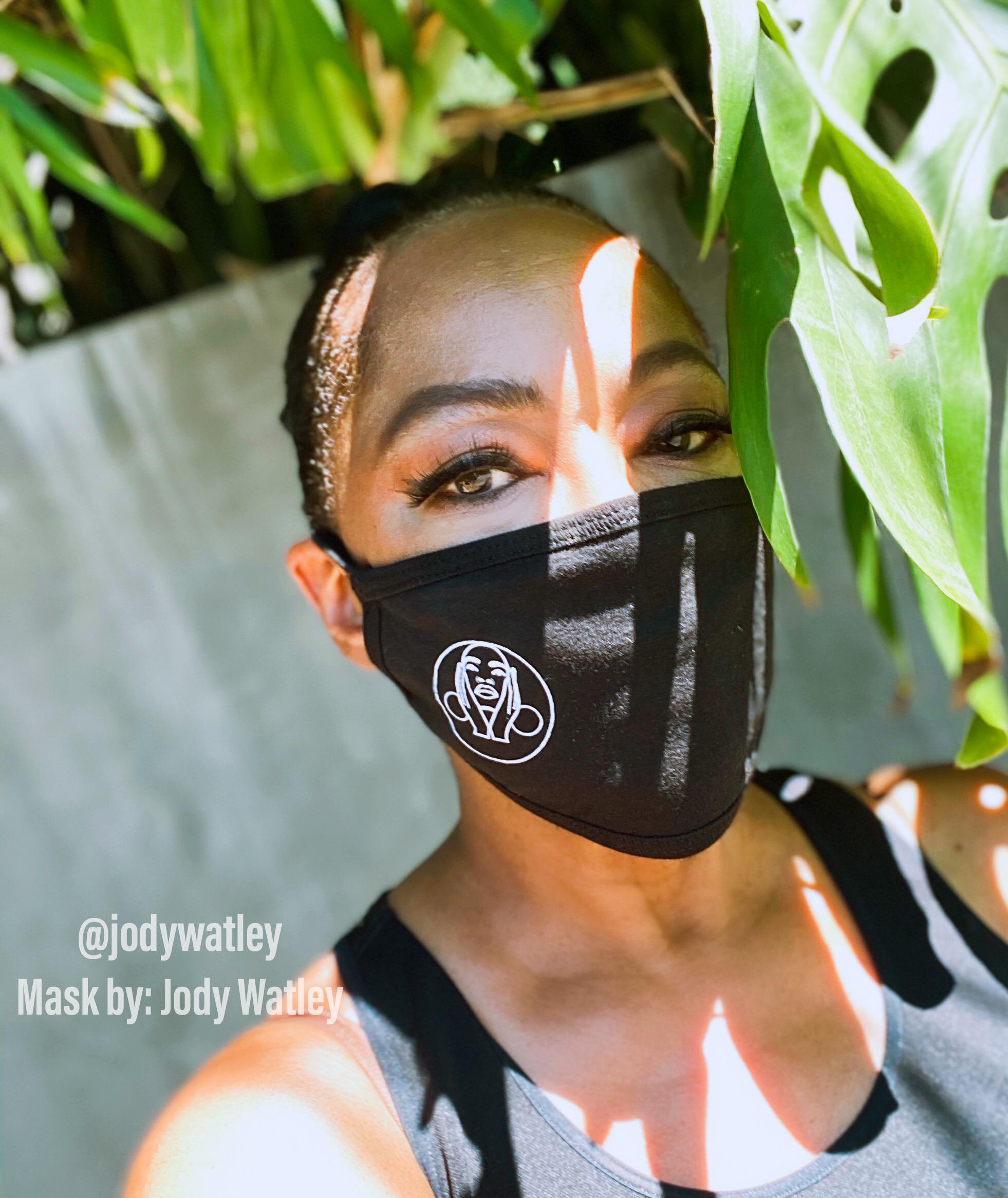 Jody Watley Facial Covering 2020 Signature Hoops